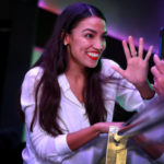 NEW YORK, NY - NOVEMBER 06: Alexandria Ocasio-Cortez celebrates her victory La Boom night club in Queens on November 6, 2018 in New York City. With her win against Republican Anthony Pappas, Ocasio-Cortez became the youngest woman elected to Congress.  (Photo by Rick Loomis/Getty Images)