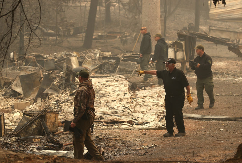 At least 25 dead as two wildfires cause devastation in southern California