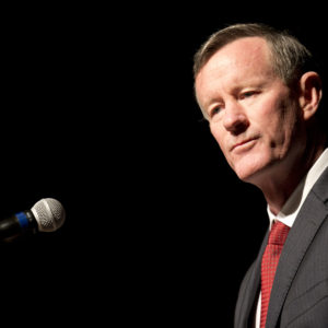 """Former Admiral William McRaven discusses special operations and the CIA during a daylong symposium """"The President's Daily Brief"""" that gave insight into the delivery of intelligence to Presidents John F. Kennedy and Lyndon B. Johnson in the 1960's.  The CIA today declassified 2,500 documents from the Kennedy and Johnson years."""