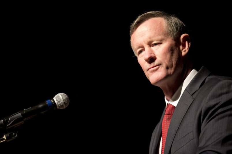 "Former Admiral William McRaven discusses special operations and the CIA during a daylong symposium ""The President's Daily Brief"" that gave insight into the delivery of intelligence to Presidents John F. Kennedy and Lyndon B. Johnson in the 1960's.  The CIA today declassified 2,500 documents from the Kennedy and Johnson years."