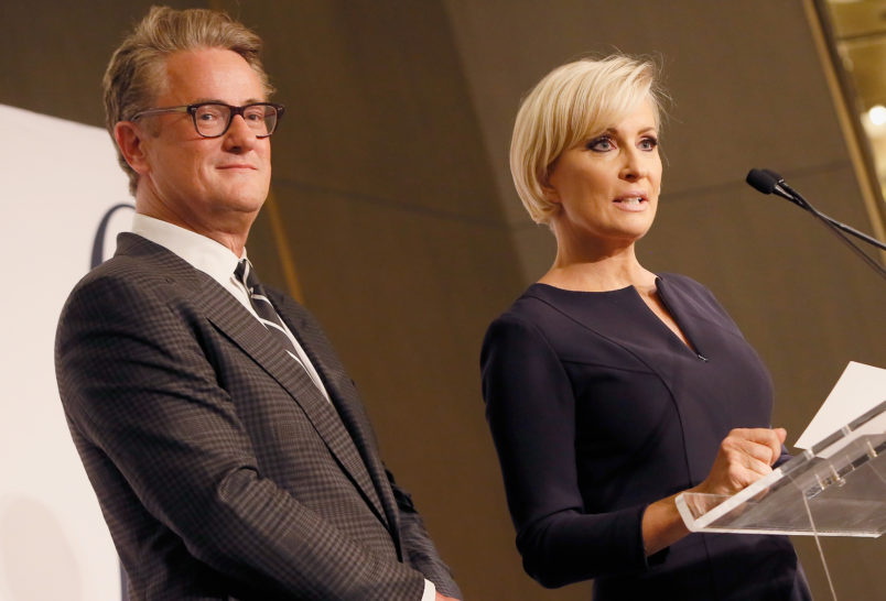 'Morning Joe's' Scarborough And Mika Brzezinski Tie Knot In Private Ceremony