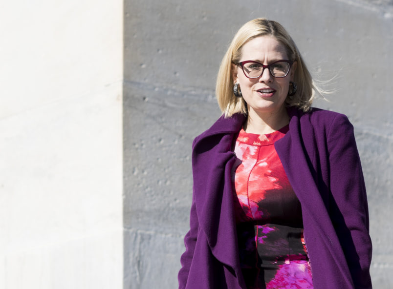 Sinema pads narrow lead in tight Senate race