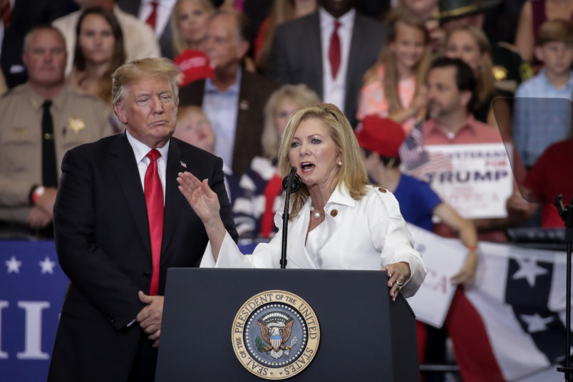 Firebrand Marsha Blackburn retains Tennessee Senate seat for GOP