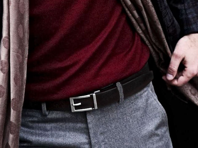 Men's Trakline Belts by Kore Essentials use an inventive design for a better fit.