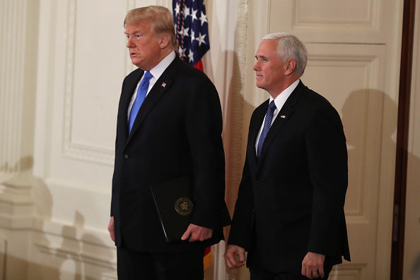 Trump casts doubt on NYT report about Mike Pence's loyalty