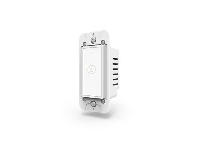 The Meross Smart WiFi Wall Light Switch uses a smartphone app and voice controls to help reduce your electric bill.