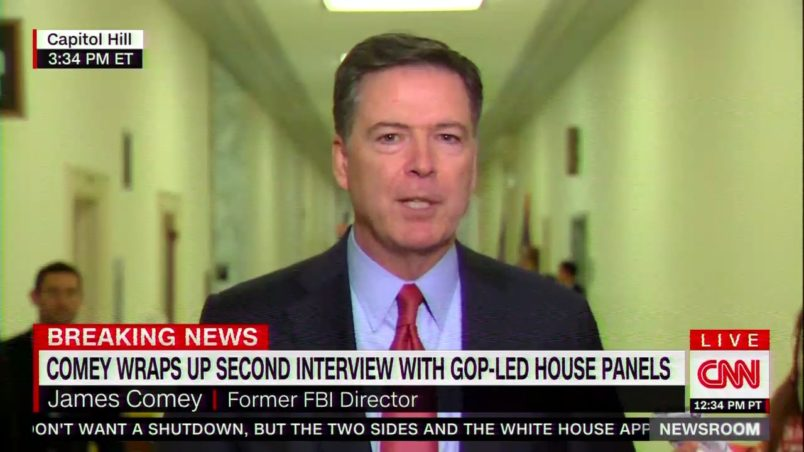 Comey: 'Someone Has To Stand Up' To Trump, Not 'Slink Away Into Retirement'
