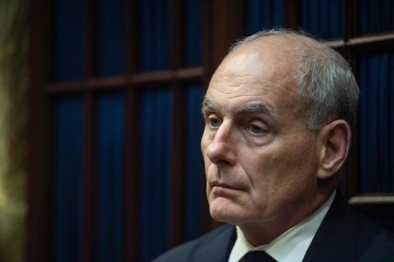 John Kelly's White House Exit Seen as Certain; Ayers May Get Job