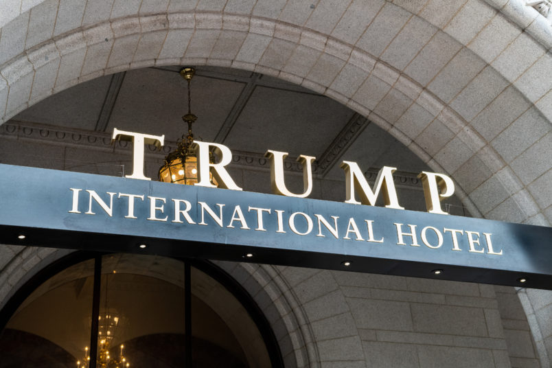 Saudis 'sought influence' with 500 bookings at Trump's hotel