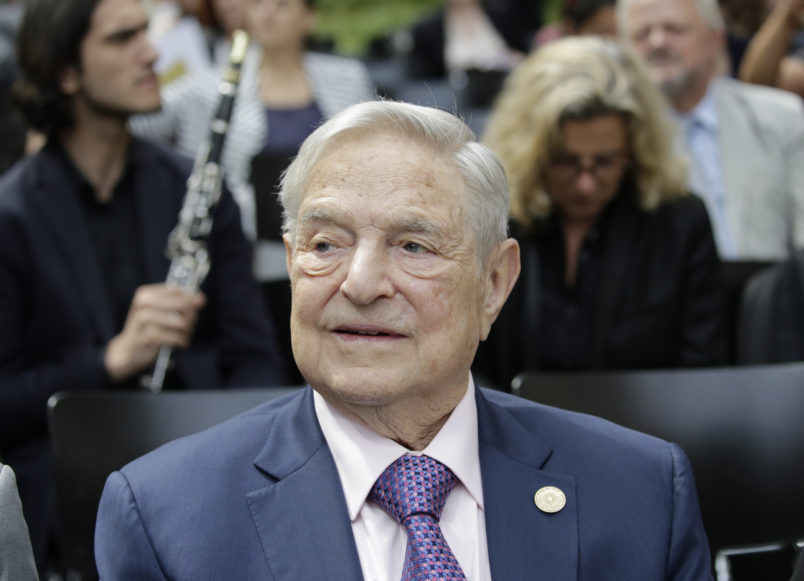 George Soros Named Financial Times' 'Person Of The Year'