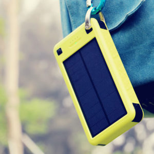 The Solar Juice 26,800mAh External Battery keeps your phone powered up no matter where your adventures take you.