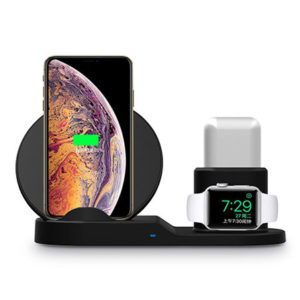 The iPM 3-in-1 Wireless Charging Station is the perfect gift for your favorite Apple addict.