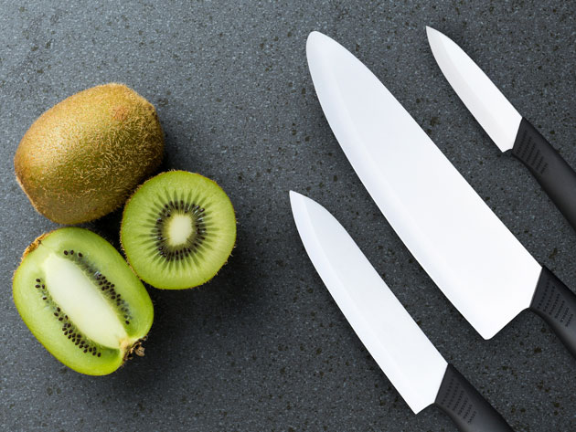 These super-sharp knives are a great gift for amateur cooks and dedicated home chefs.