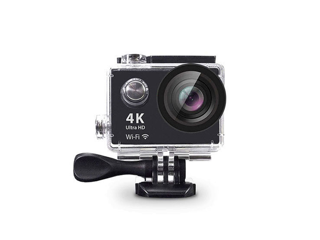 The 4K Ultra HD Action Cam with Mounts captures every breathtaking second of your extreme adventures.