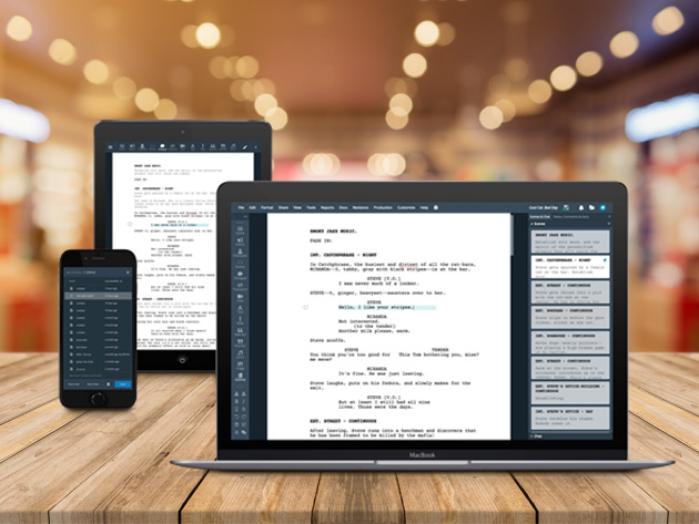 WriterDuet Pro gets your entire creative team on the same page with collaborative tools and auto-formatting.