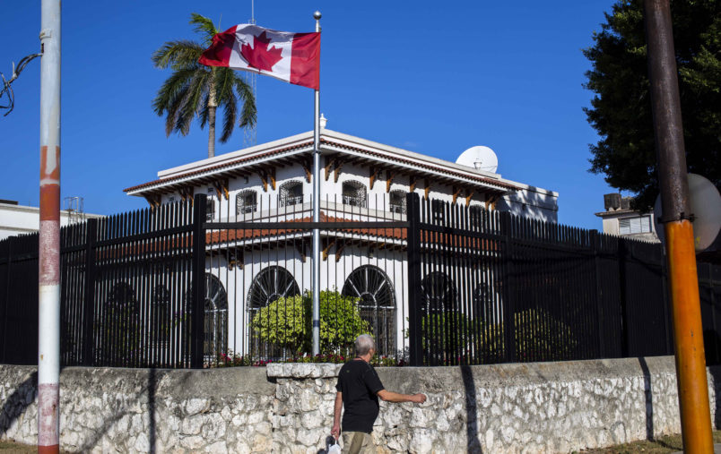 Canada To Halve Cuban Embassy Staff After Another Diplomat Falls Ill