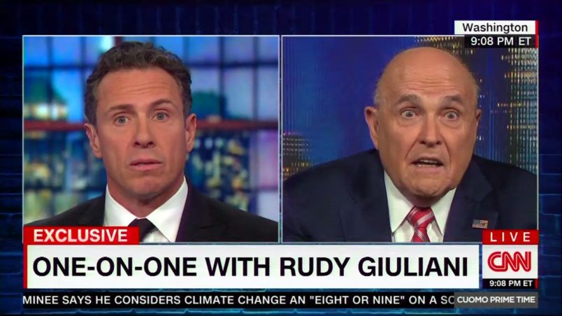 Giuliani comments raise new questions about collusion by Trump campaign