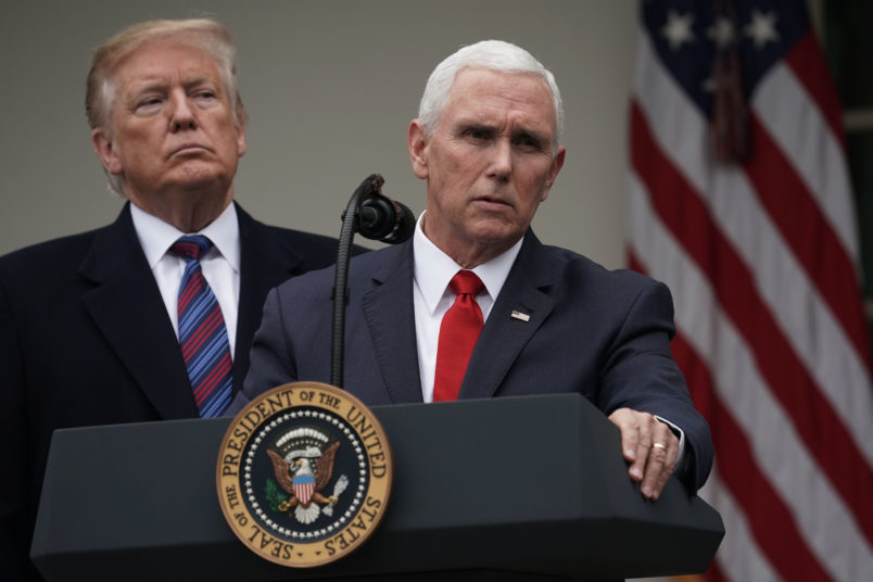 Trump Repeatedly Undermines Loyal Soldier Pence In The Shutdown Fight