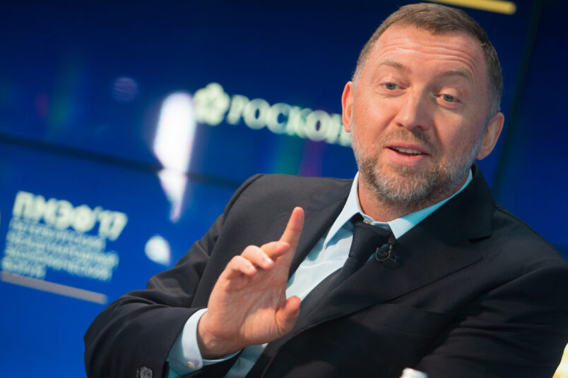 Senate Backs End to Sanctions on Firms Tied to Deripaska