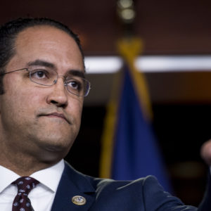 UNITED STATES - JANUARY 16: Rep. Will Hurd, R-Texas, participates in a news conference on bipartisan legislation to address the Deferred Action for Childhood Arrivals (DACA) program and border security on Tuesday, Jan. 16, 2018. (Photo By Bill Clark/CQ Roll Call)