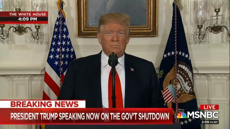 Trump to offer shutdown-ending immigration deal, still wants wall money
