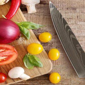 The Damasukasu 3-Piece Handmade Japanese Chef Knife Set makes meal prep fun and easy.