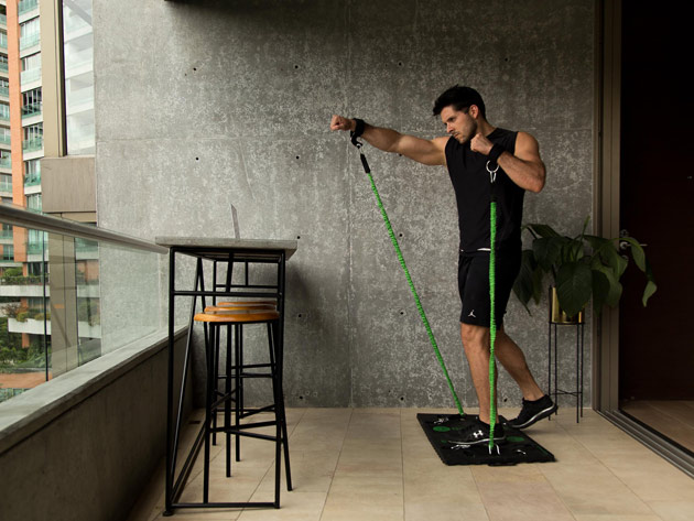 The ultra-convenient BodyBoss 2.0 Home Gym replaces excuses with an easy to use, do-it-all piece of equipment.