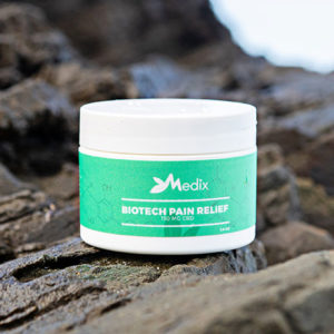 Medix's 150 Mg CBD Topical Pain Relief Cream might help ease joint or muscle pain.