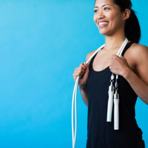 Fitness is just a hop, skip and a jump away with the Crossrope Get Lean Jump Rope Set.
