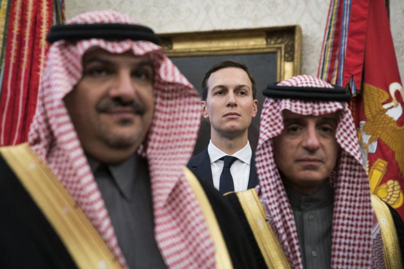Kushner, Saudi crown prince discuss 'increasing cooperation' in Riyadh: White House