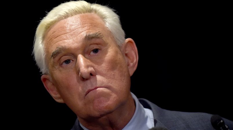 Roger Stone Posts and Deletes Photo of Judge With Crosshairs