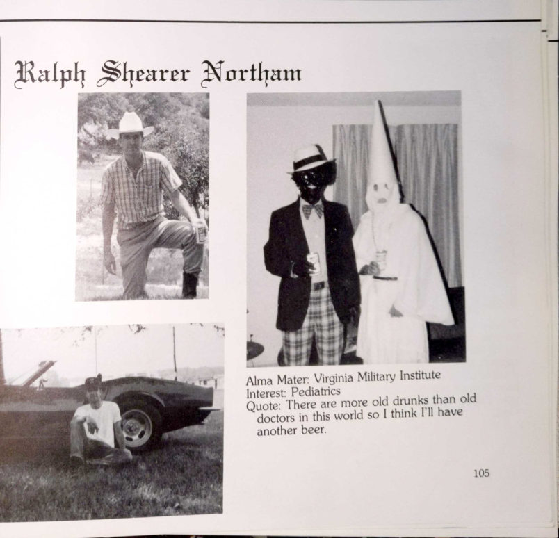 Donald Trump's rage at governor in row over racist photo