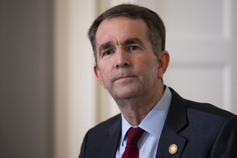 Gov. Northam held 'urgent' meeting with senior staff Sunday evening