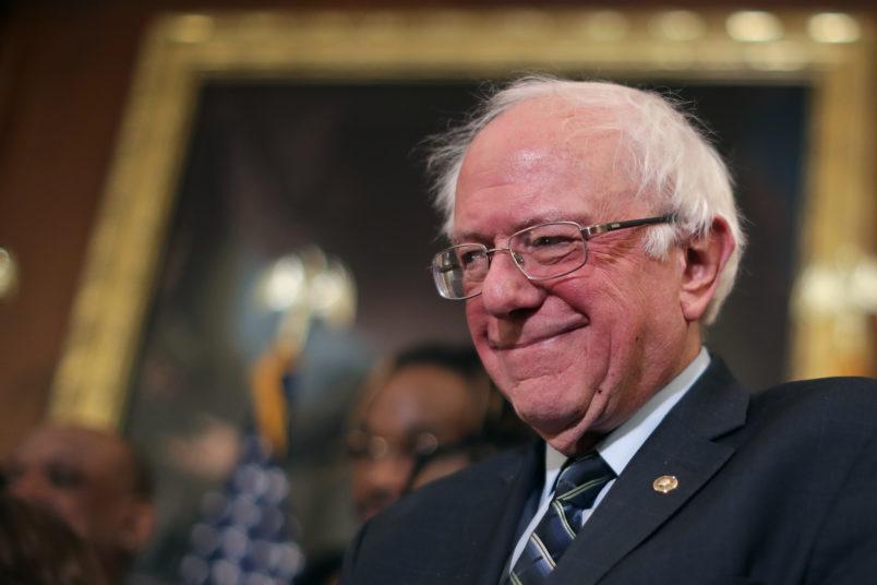 Sanders says he's running for president in 2020