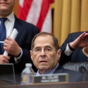 House Judiciary Committee Chairman Jerrold Nadler (D-NY), (C), questions Acting U.S. Attorney General Matthew Whitaker, at his hearing before the House Judiciary Committee on the special counsel investigation into Russian interference in the 2016 election, on Capitol Hill in Washington, D.C., on Friday, February 08, 2019. (Photo by Cheriss May/NurPhoto)