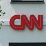 The logo of CNN is seen in Munich. (Photo by Alexander Pohl/NurPhoto)