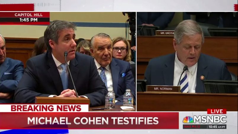 Cohen testifies he's never been to Prague, shooting down key dossier claim