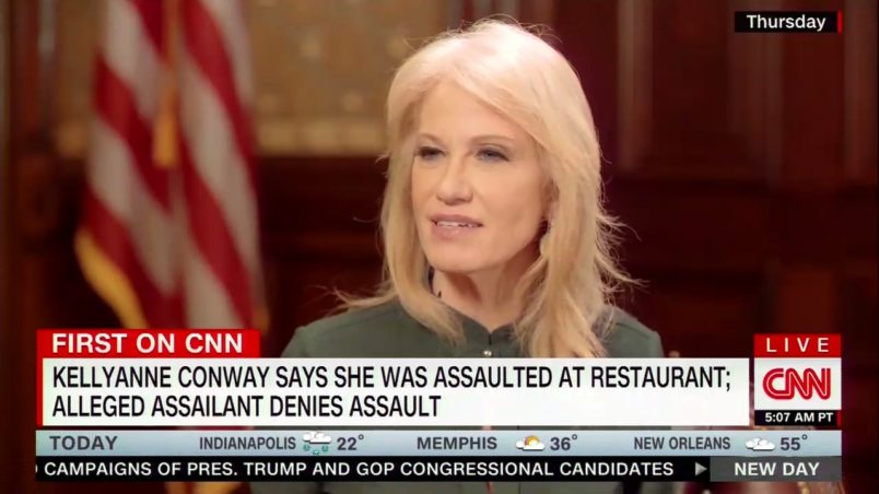Woman Due In Court On Charges Of Assaulting Conway In A Restaurant