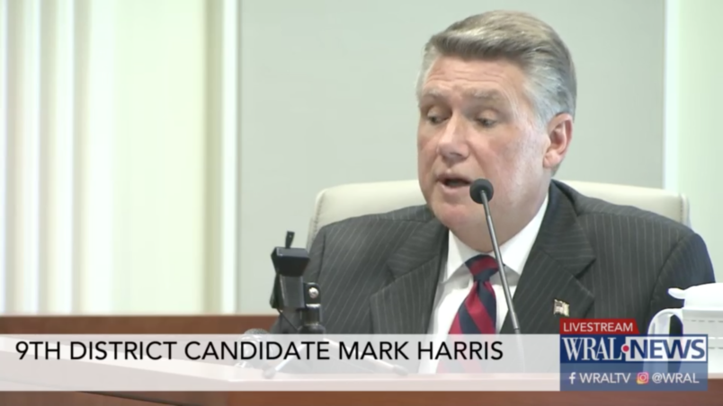 North Carolina Republican denies knowing of alleged vote scam