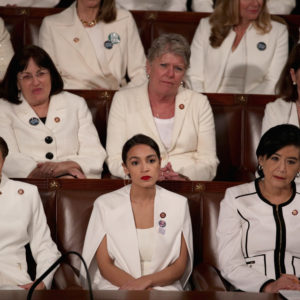 delivers the State of the Union address in the chamber of the U.S. House of Representatives on February 5, 2019 in Washington, DC. President Trump's second State of the Union address was postponed one week due to the partial government shutdown.