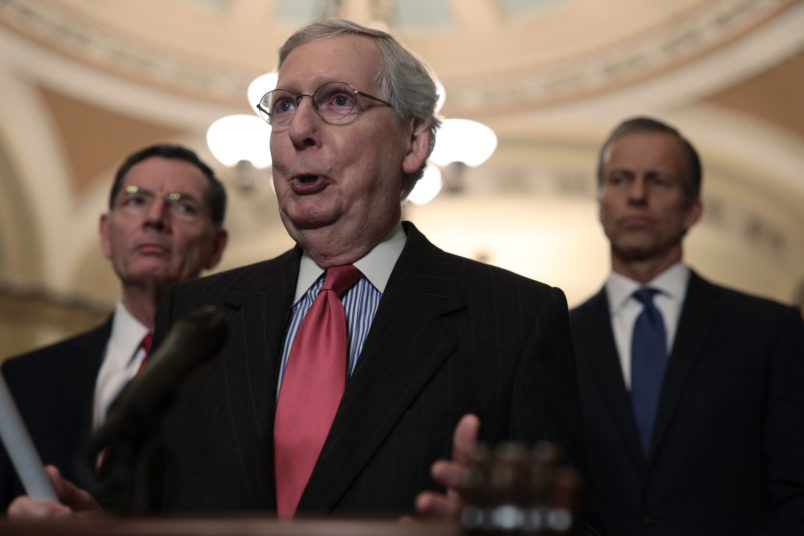 McConnell Shows His Cards: I Hope Trump Will Sign Bipartisan Border Bill
