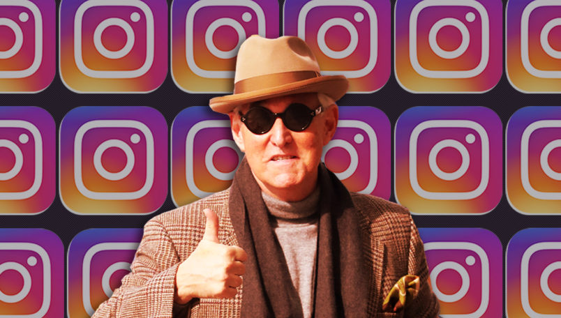 Roger Stone goes to court for hearing about Instagram post