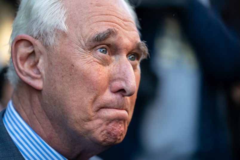 Roger Stone Judge Wants to Know Why She Wasn't Told About Book