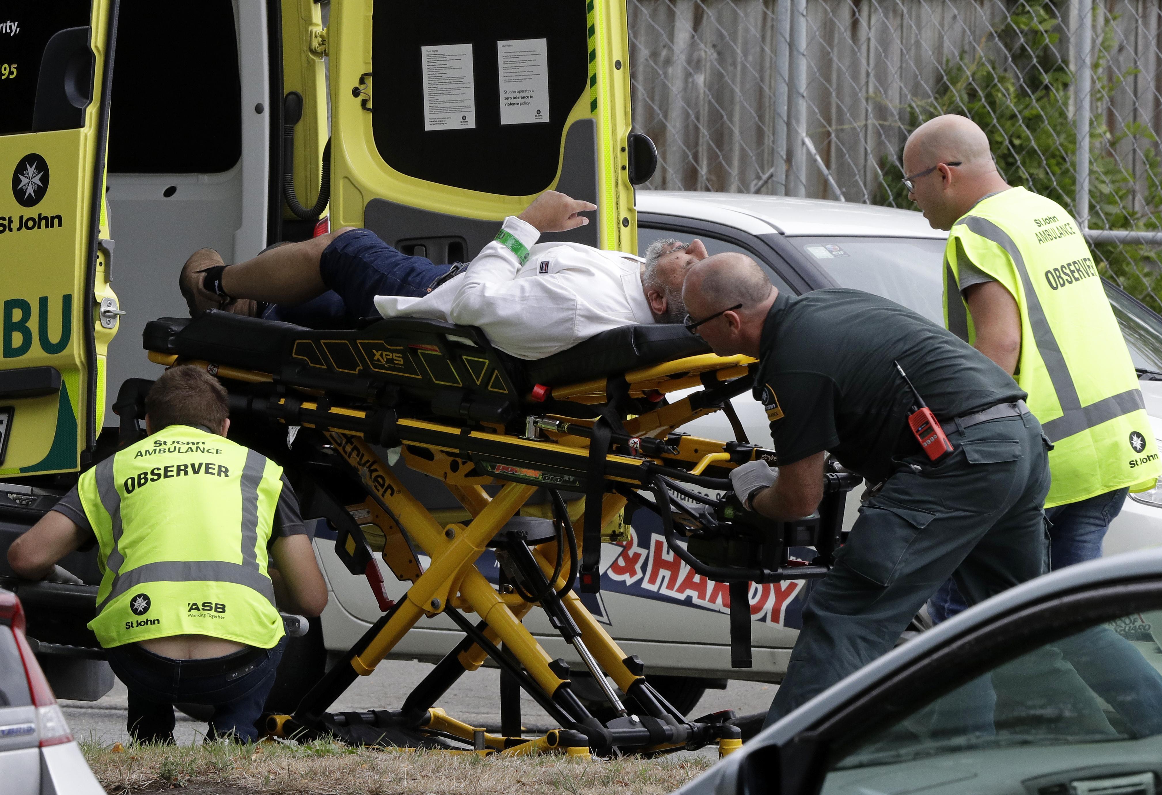 New Zealand Massacre Photo: Mosque Massacre In New Zealand Leaves 49 Dead; 1 Man