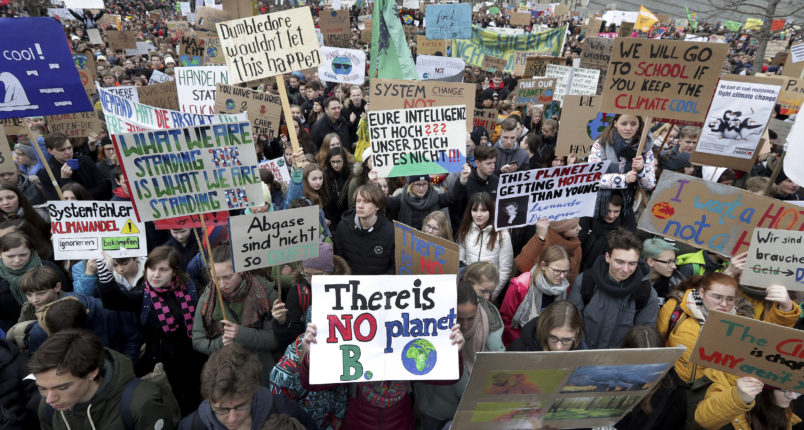 Students around the world protest climate inaction