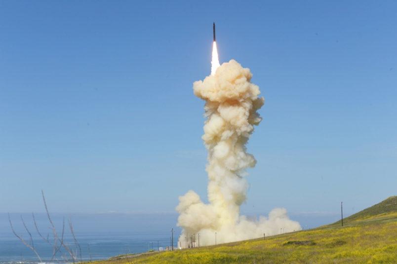 Pentagon launches successful missile interception test