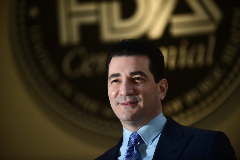 FDA Chief Scott Gottlieb to Resign
