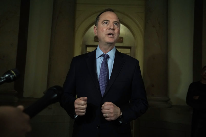 Adam Schiff: Trump should have to testify under oath