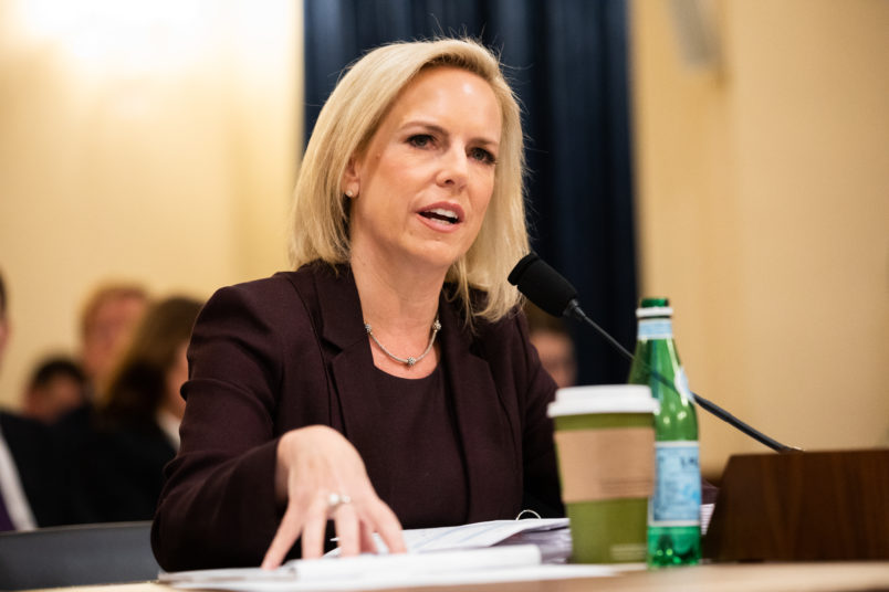 US  faces 'crisis' at southern border, Nielsen says