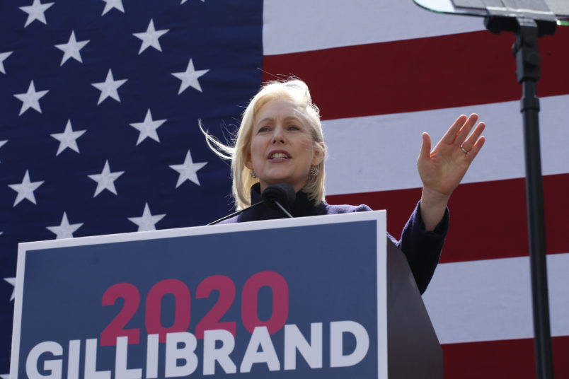 Gillibrand officially launches 2020 presidential campaign